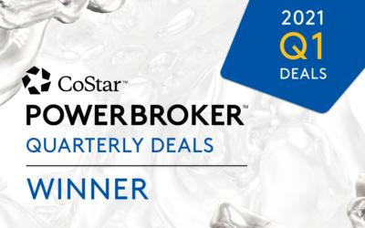 Q1 2021 CoStar Quarterly Deals Winner